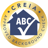 CREIA Approved Background Check